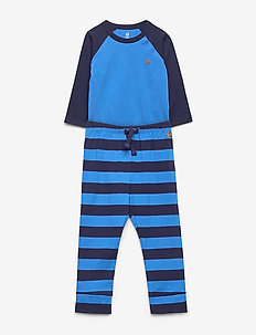 Baby Brannan Bear Bodysuit Set - BREEZY BLUE 504