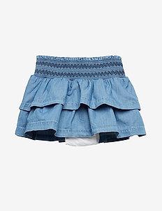 Toddler Chambray Flutter Skirt - jupes - chambray 042