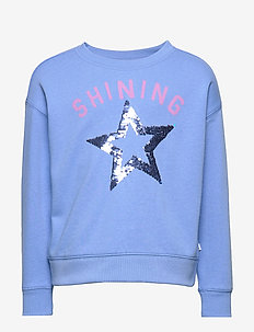 Kids Interactive Graphic Sweatshirt - MOORE BLUE