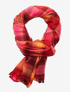 V-COZY SCARF - scarves - sizzling fuchsia