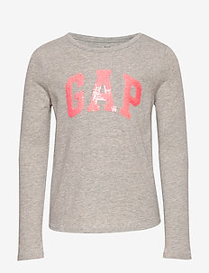 V-GAP FLP LS T - habits tricotés - b10 grey heather