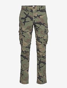 Cargo Pants with GapFlex - GREEN CAMO