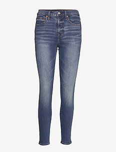 High Rise True Skinny Jeans with Secret Smoothing Pockets - MEDIUM INDIGO 6