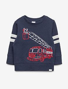 Toddler Crewneck Sweatshirt - langærmede t-shirts - blue galaxy