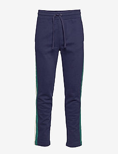 Varsity Stripe Sweatpants - sweat pants - tapestry navy