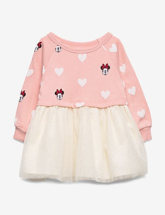 babyGap | Disney Minnie Mouse Mix-Media Dress - MINNIE MOUSE