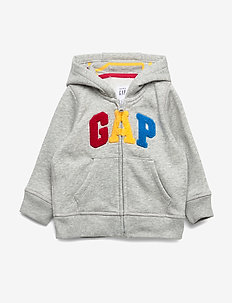 FR GARCH HOOD - hoodies - light heather grey b08