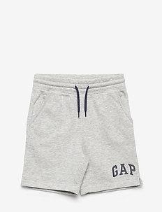 HS FT LOGO SHORT - shorts - light grey heather