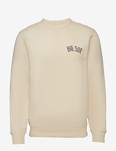 Big Sur Crewneck Sweatshirt - UNBLEACHED WHITE