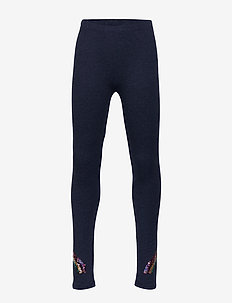 Kids Flippy Sequin Everyday Stretch Leggings - leggings - indigo heather b8985