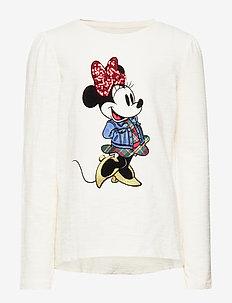 GapKids | Disney Minnie Mouse T-Shirt - IVORY FROST