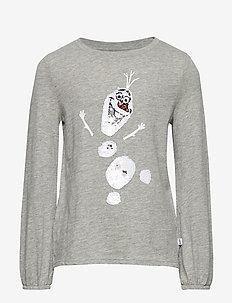 GapKids | Disney Frozen 2 Sequin T-Shirt - B10 GREY HEATHER