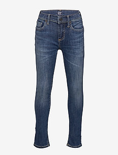 Kids Skinny Jeans with Max Stretch - DARK WASH INDIGO