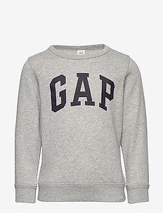 Toddler Gap Logo Sweatshirt - sweats - light heather grey