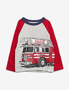 Toddler Graphic T-Shirt - langærmede t-shirts - light heather grey v6