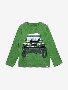 Toddler Graphic Long Sleeve T-Shirt - langærmede t-shirts - saratoga green