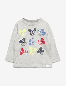babyGap | Disney Graphic T-Shirt - LIGHT HEATHER GREY B08