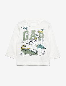 Toddler Gap Logo T-Shirt - NEW OFF WHITE