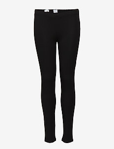 Kids Leggings in Stretch Jersey - leggings - black