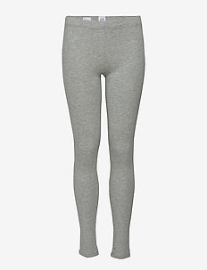 Kids Leggings in Stretch Jersey - leggings - grey
