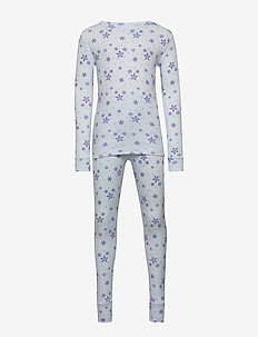 Kids Snowflake PJ Set - ESSENTIAL BLUE