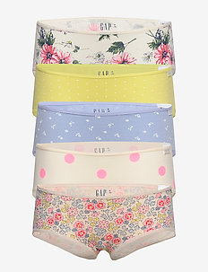 Kids Floral Hipsters (5-Pack) - underdele - multi
