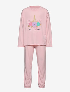 Kids Unicorn PJ Set - ICY PINK