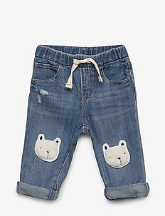 PO SLIM BEAR - LIGHT WASH INDIGO 118