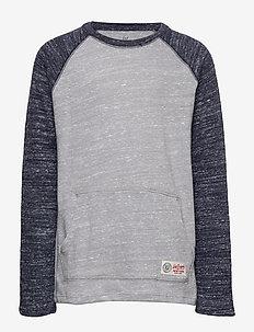 Kids Softspun Raglan T-Shirt - langærmede t-shirts - grey area