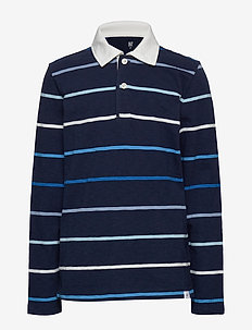Kids Polo Shirt - BLUE STRIPE