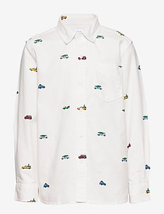 Kids Oxford Button-Down Shirt - NEW OFF WHITE