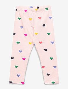 Baby Print Everyday Leggings - PINK CAMEO