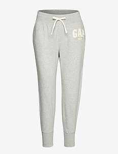 Vintage Soft Gap Mini Logo Joggers - LIGHT HEATHER GREY V6