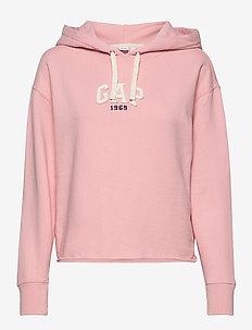 Vintage Soft Gap Mini Logo Pullover Hoodie - hættetrøjer - pink standard