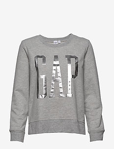 V-GAP DB PO TOP - B10 GREY HEATHER