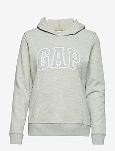 SH GAP CLSC PO HD - LIGHT HEATHER GREY B10