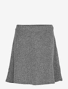 V-F/F SKIRT - TWEED - BLACK TWEED GRD8100