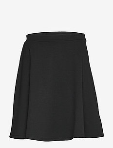 V-F/F SKIRT - PONTE - TRUE BLACK