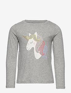 V-HO LS PTF GR T - langærmede t-shirts - unicorns 647