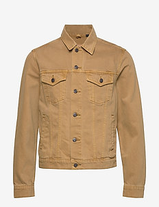 Icon Denim Jacket - vestes en jean - faded tan