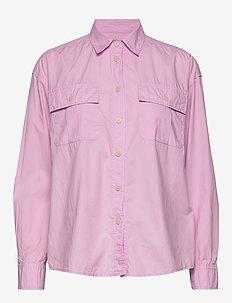 Camp Shirt - chemises à manches longues - lavender pink