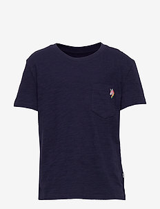 Kids Print Pocket T-Shirt - À manches courtes - navy uniform