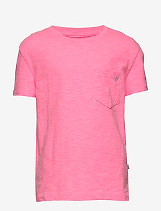 Kids Print Pocket T-Shirt - À manches courtes - neon impulsive pink