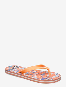 Kids Camo Gap Logo Flip Flops - klipklapper & badesko - orange surf