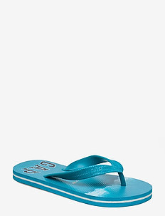 Kids Shark Gap Logo Flip Flops - flip flops - waves