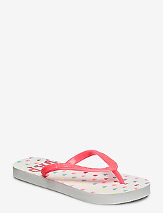 Kids Gap Logo Flip Flops - flip flops - optic white 3