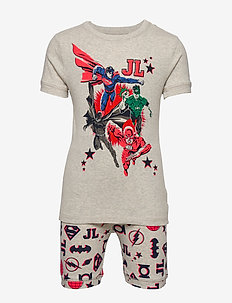 GapKids | DC™ Short PJ Set - zestawy - grey heather b03