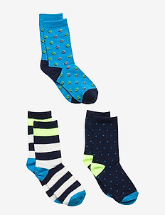 Kids Crew Socks (3-Pack) - MULTI