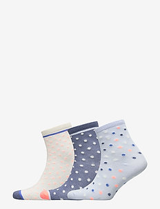 Kids Dot Crew Socks (3-Pack) - MULTI