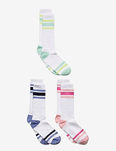 Kids Stripe Tube Socks (3-Pack) - strømper - multi